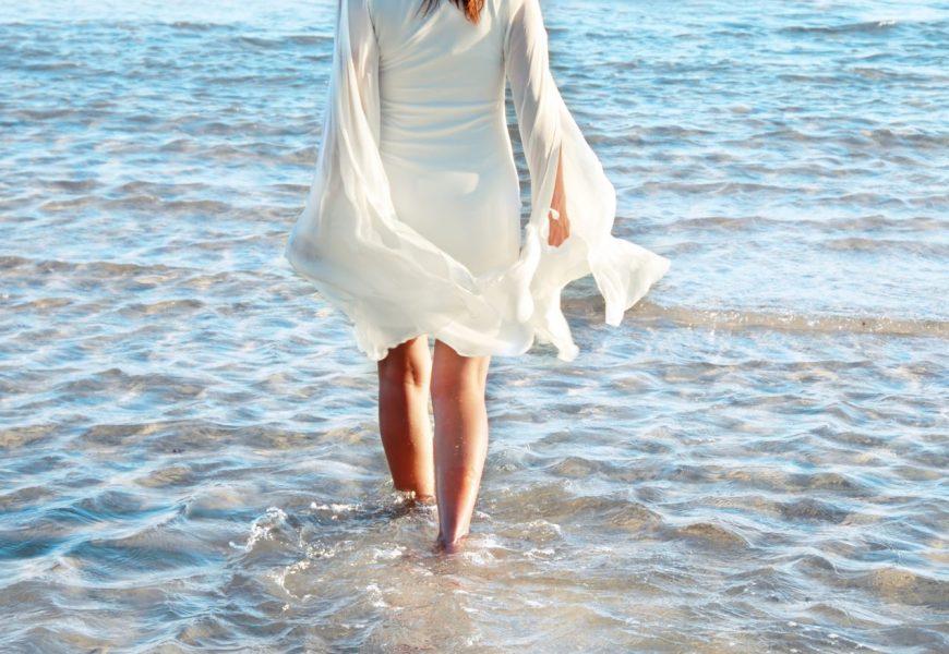 Lopen in het water